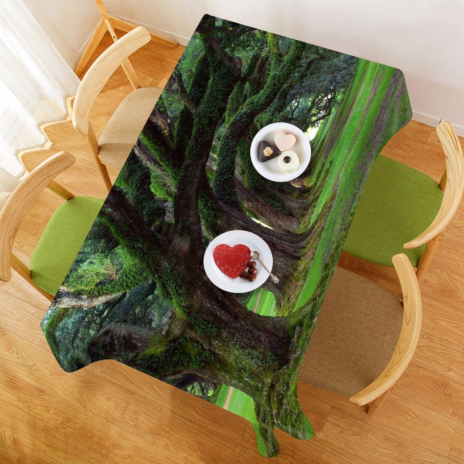 3D Lawn Green Tablecloth Table Cover Cloth Birthday Party AJ WALLPAPER UK Lemon