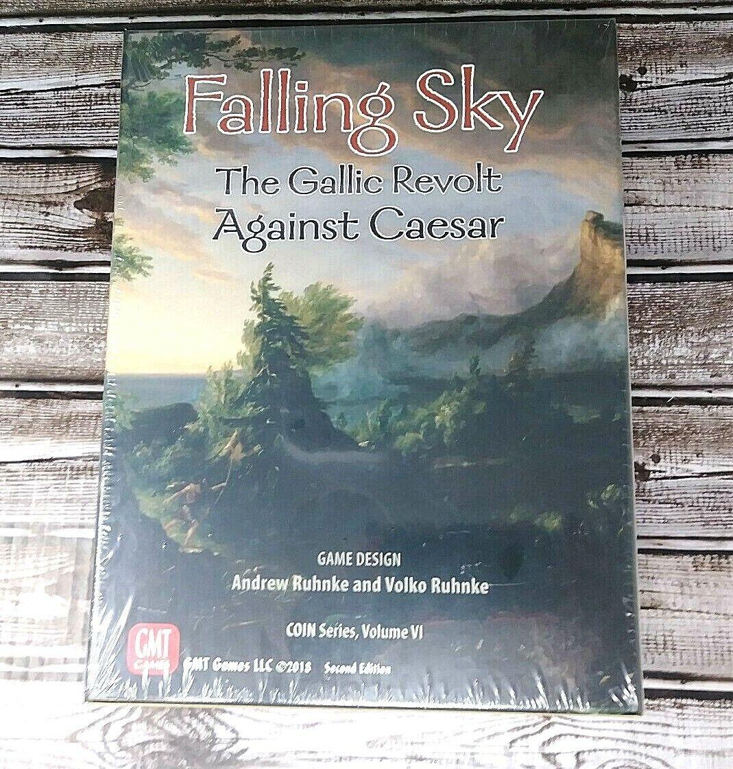 Falling Sky  les Gaulois se révoltent contre César Deuxième édition par GMT Games-NEUF  bienvenue à l'ordre