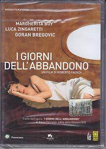 Dvd-I-GIORNI-DELL-039-ABBANDONO-con-Luca-Zingaretti-nuovo-sigillato-2005