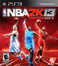 NBA 2K13 For PlayStation 3 PS3 Basketball With Manual And Case Very Good 3E