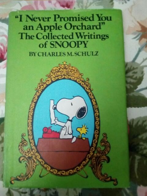 PEANUTS I NEVER PROMISED YOU AN APPLE ORCHARD Charles M SCHULZ 1st. edition 1976