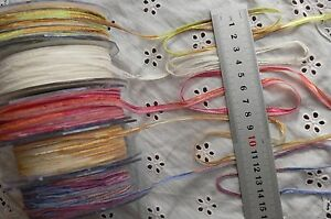 Multi-Coloured-4mm-Wide-3-5-amp-10-Metres-5-Colours-or-Combo-Choice-ALD8