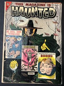 THIS-MAGAZINE-IS-HAUNTED-V2-13-Steve-DITKO-18-pgs-HORROR-comic-book-1957-GD