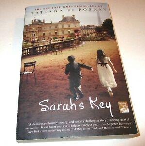 Sarah's Key Tatiana De Rosnay Paperback New York Times Bestseller Author