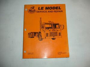NEW Mack Truck Engine MIDR 06.02.12 Service Manual Shop Repair ...