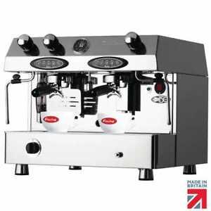 Fracino Contempo 2 Group Electronic Dual Fuel Coffee Machine