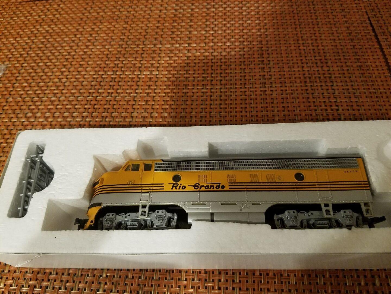 Escala Ho F7A fase II D&RGW (Amarillo 4 Stripe) Stock no. 9230 Rio Grande