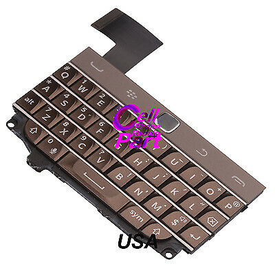 Brown Keyboard Keypad Button For BlackBerry Classic Q20 Flex Cable Part