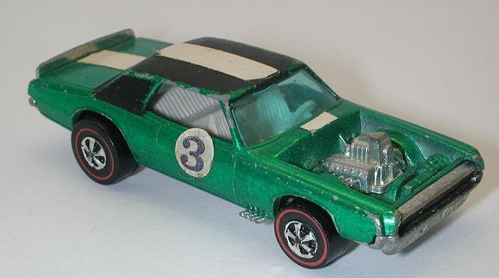 Rossoline Hotwheels verde 1970 TNT Bird