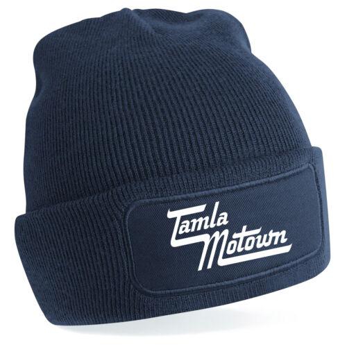 Motown Tamla Northern Soul Dance retro Jazz blues Beechfield Beanie 7 colours