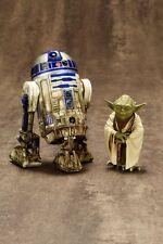 Yoda & R2-D2 Dagobah 2 Pack Artfx+ Kotobukiya