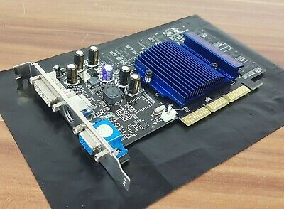 Beliebte Marke Agp Grafikkarte Nvidia Geforce Fx5200 128mb Ddr Dvi Vga Tv-out Top!