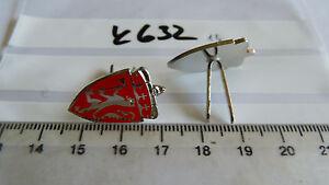Norwegen-Wappen-rot-mit-Loewe-und-Krone-Metall-1-Paar-k632