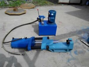 Details about 100T Electric Portable Hydraulic Track Pin Press