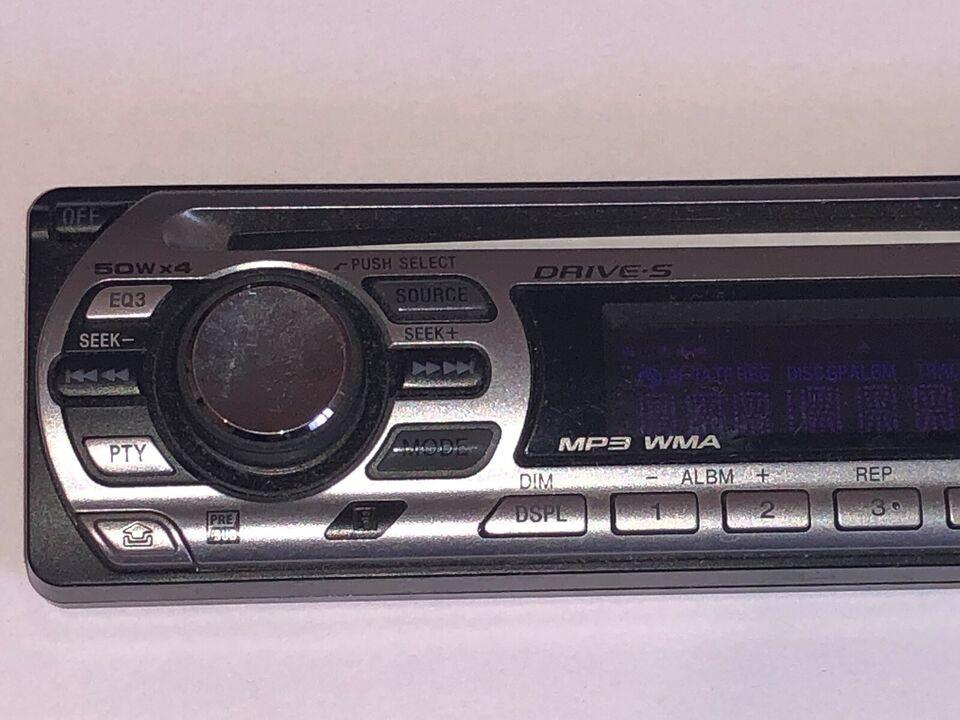 Sony CDX-GT310, Skærm