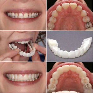 1Pair-Cosmetic-Teeth-Perfect-Smile-Veneers-Snap-On-Comfort-Covers-Upper-Bottom