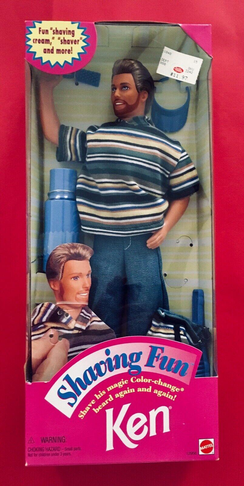 BARBIE's BF KEN SHAVING FUN NRFB 1994