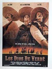 GREEN DAY, LOS DIOS DE VERDE,2000, AUTHENTIC, LICENSED 2001 POSTER