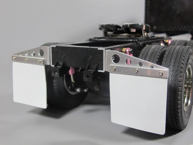 Semi Mud Flaps >> Toy Aluminum Rear Mud Flap Hanger Holder Tamiya R C 1 14 Grand King Hauler Semi