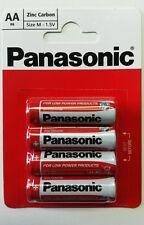 48 PCS (4 PCS X 12 CARDS) AA PANASONIC 1.5V ZINC CARBON BATTERIES