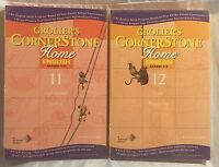 Grollier's Cornerstone Home English Grades 7 8 Volume 11 And 12 Spelling Usage