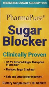 PharmaPure Sugar Blocker Natural Healthy Organic Weight Loss Herbal Suppliment
