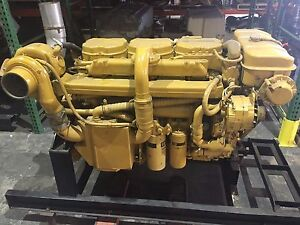 Details about Caterpillar CAT 3176B Turbo, Marine Diesel Engine, 600HP