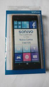 Sonivo-Nokia-Lumia-730-735-Soft-Gel-Case-Frost-Transparent