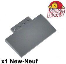 4x Steigung gebogen gewölbt 4x2 dunkelgrau/dark Angebot gray 93606 neu LEGO Bausteine & Bauzubehör Lego