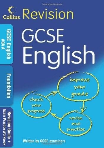 1 of 1 - New, Collins Revision - GCSE English Foundation: Revision Guide + Exam Practice