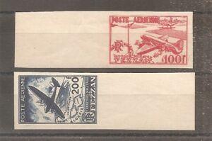 TIMBRE-FEZZAN-LIBYE-FRANKREICH-KOLONIE-1948-PA-N-4-5-NEUF-MNH-IMPERF