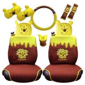 242a5476ba47 Winnie The Pooh Car Accessory Set (10 pieces). Awesome Pooh ...
