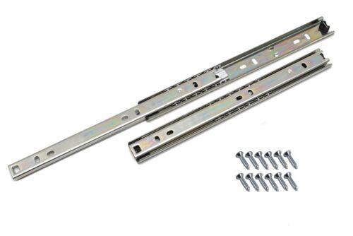 Coulisse de tiroir pousser à ouvrir tiroir montage latéral H17 H27 H35 H45mm