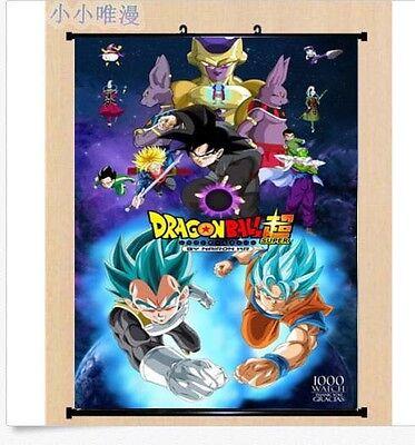 Hot Anime Dragon Ball Z Caulifla Poster Wall Scroll Home Decor 40x60cm