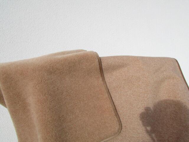 Wool Blanket Bedspread Single Sided 20/% alpacawolle 80/% Merino Wool Made in Germany