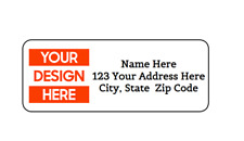 30 Custom Logo Picture Image Personalized Return Address Labels 1 In X 2625 In