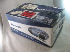 Panasonic Boombox Cassette CD Radio RX-D27P-S Portable Stereo 2004 NEW IN BOX