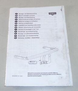 Instrucciones-de-Instalacion-Westfalia-Remolque-Acoplamiento-para-VW-Golf-IV