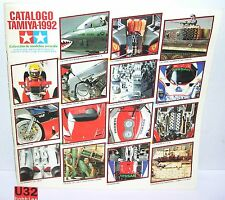 TAMIYA CATALOGO EDICION 1992 ENGLISH/SPANISH   86 PAGINAS  EXCELENTE CONDICION