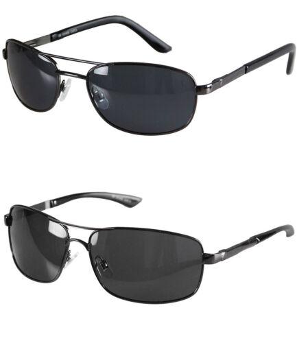 caripe Herren Sonnenbrille polarisiert Metallgestell Federscharnier Sport pol1