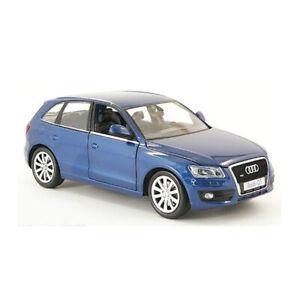 MOTORMAX-73385-Audi-Q5-Blue-Metallic-Scale-1-24-Model-Car-New