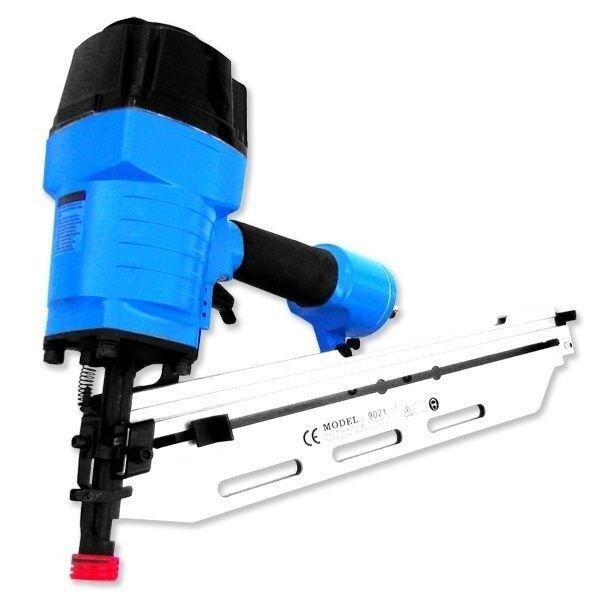 FRAMING AIR NAIL GUN 21 Degree NR Up to 3-1 2  Nailer Roofing Construction Tools