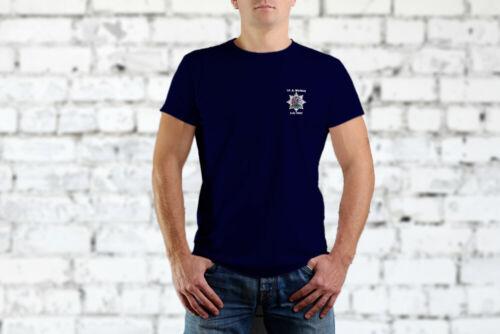 OXFORDSHIRE Fire and Rescue Personnalisé T Shirt Mod sous licence