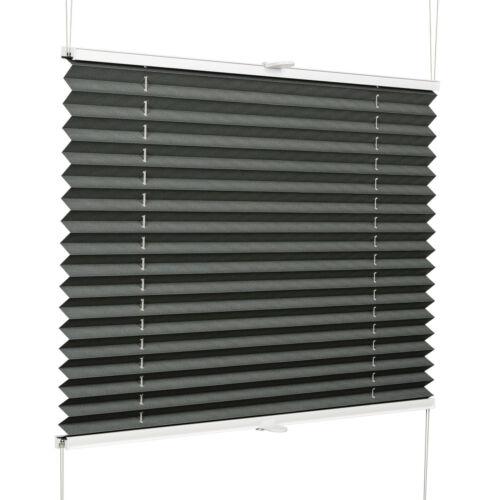 Plissee Rollo auf Maß für Fenster und Türen Jalousie Faltrollo Vorhang Faltstore