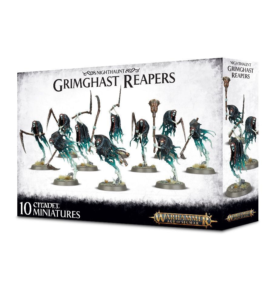 Warhammer Age of Sigmar Deathrattle Deathrattle Deathrattle Grimghast Reapers plastic new c9582b