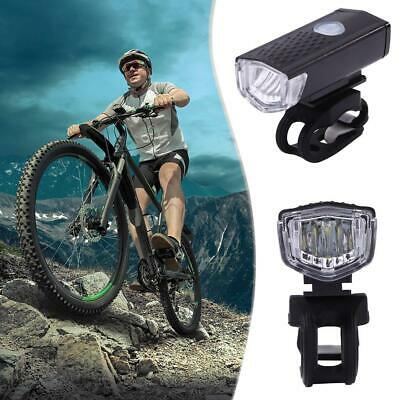 ABS Mountain Bike Headlight USB Rechargeable Super Bright Night Riding Lights