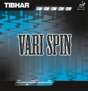 Tibhar Vari Spin Table Tennis Rubber Sale Ebay
