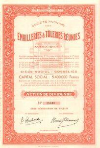 SA-des-Emailleries-amp-Toleries-Reunies-034-AUBECQ-amp-Cie-034-accion-1935
