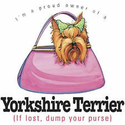 Yorkshire Terrier Love T Shirt Pick Your Size Youth Medium to 6 X Large
