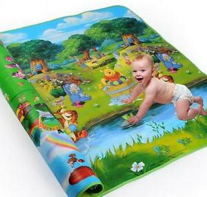 Baby Kids Bear Safty Foam Play Mat Carpet Playmats Blanket Rug 200*180*0.5 cm LS